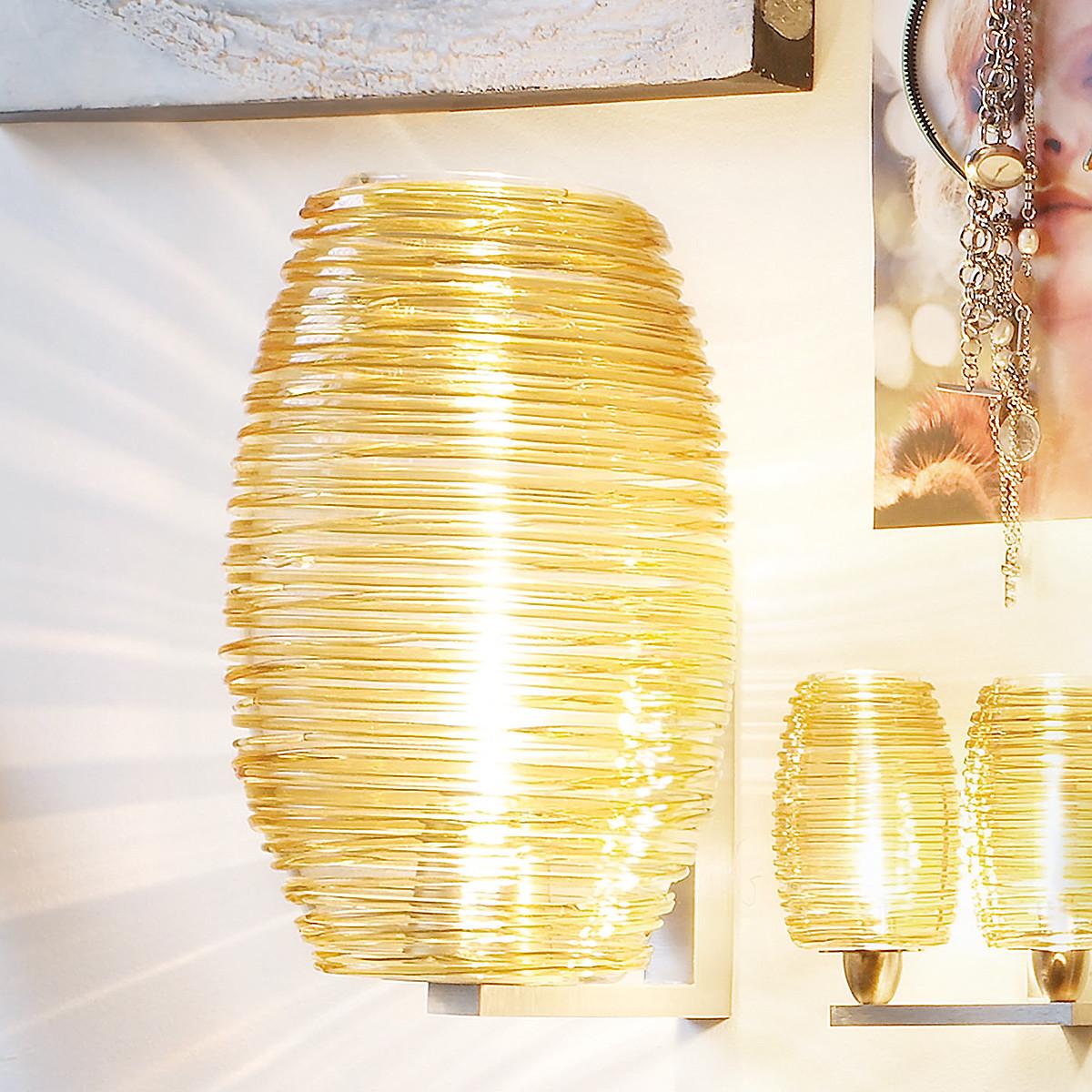 vistosi damasco ap g wandleuchte lampen shop casa de. Black Bedroom Furniture Sets. Home Design Ideas