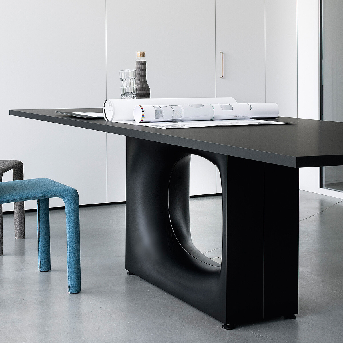 kristalia holo esstisch 250 cm mit fenixplatte casa de. Black Bedroom Furniture Sets. Home Design Ideas