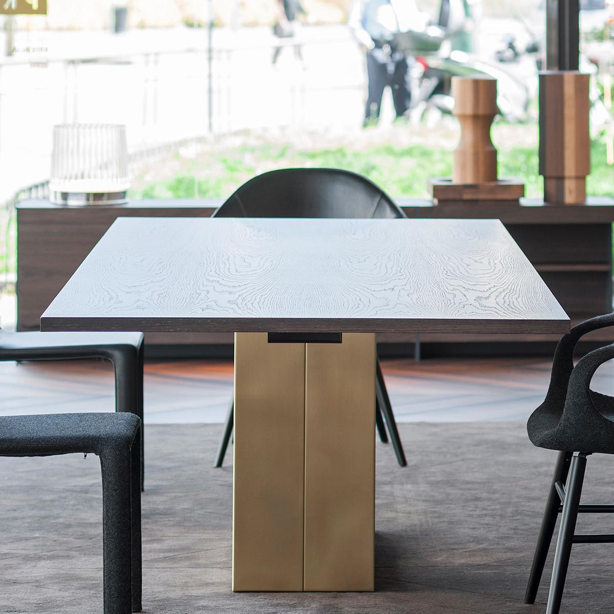kristalia holo esstisch 250 cm mit eichenplatte casa de. Black Bedroom Furniture Sets. Home Design Ideas