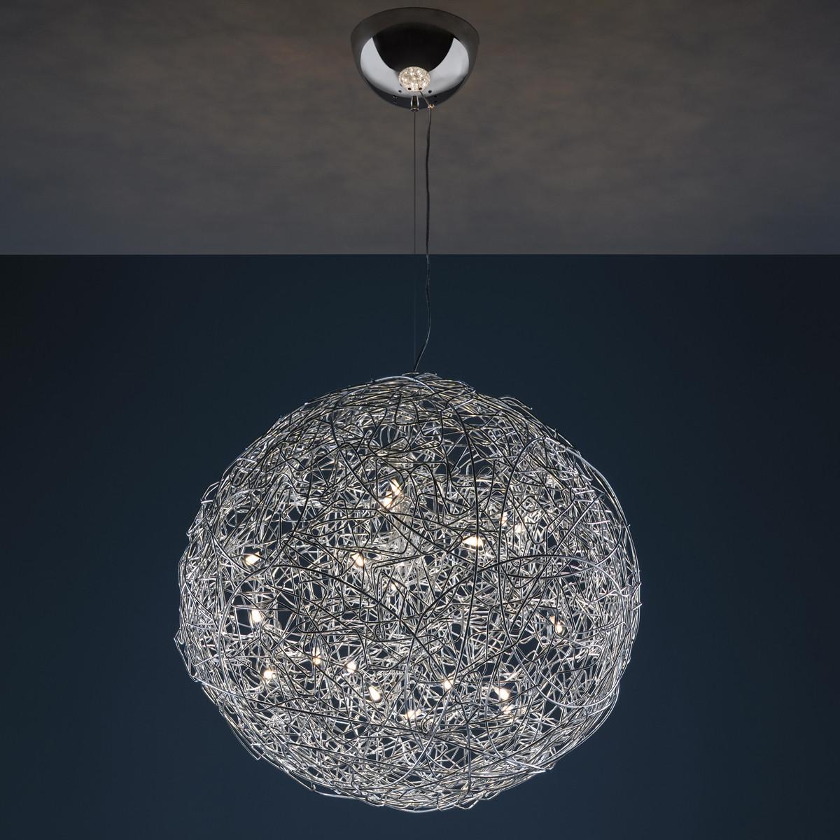 catellani smith fil de fer led pendelleuchte 100 cm casa de. Black Bedroom Furniture Sets. Home Design Ideas
