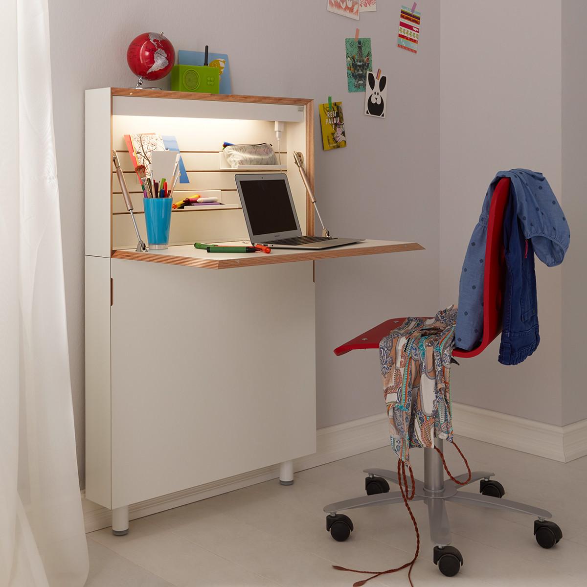 m ller m belwerkst tten flatmate sekret r in wei casa de. Black Bedroom Furniture Sets. Home Design Ideas