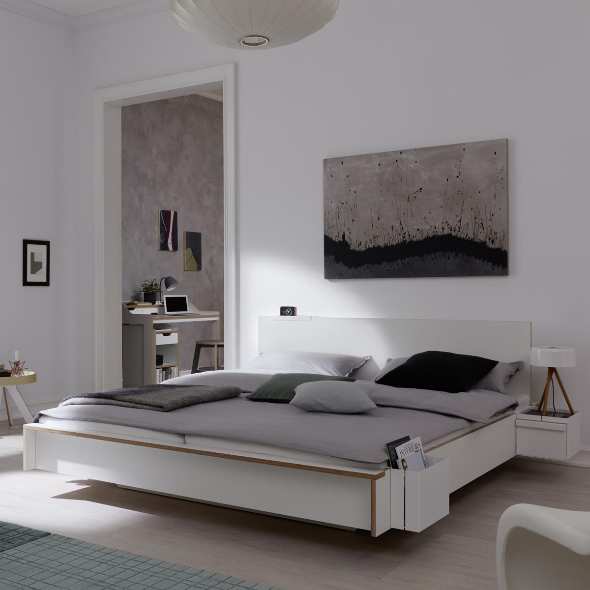 m ller m belwerkst tten flai bett wei casa de. Black Bedroom Furniture Sets. Home Design Ideas