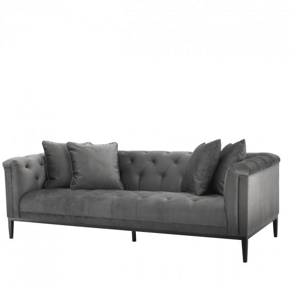 EICHHOLTZ Cesare Design Sofa 231 cm, Grau | CASA.DE