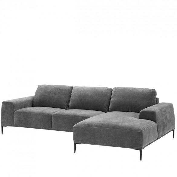 eichholtz montado lounge sofa grau casa de. Black Bedroom Furniture Sets. Home Design Ideas