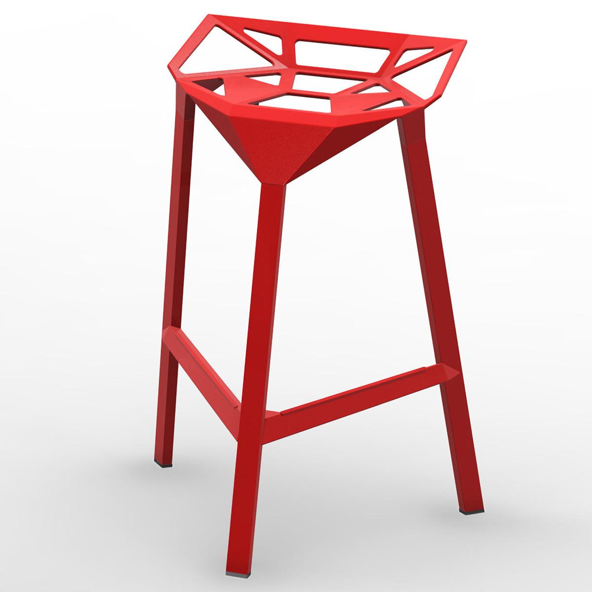 Magis stool one barhocker sitzh he 67 cm in outdoor for Barhocker magis