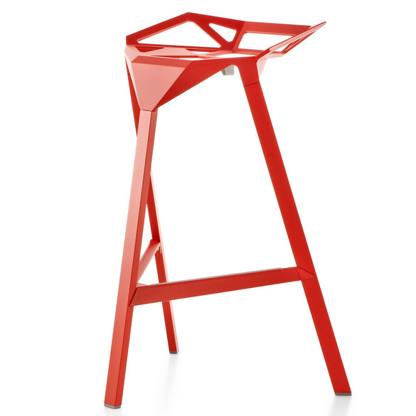 Barhocker Outdoor magis stool one barhocker sitzhöhe 67 cm in outdoor casa de