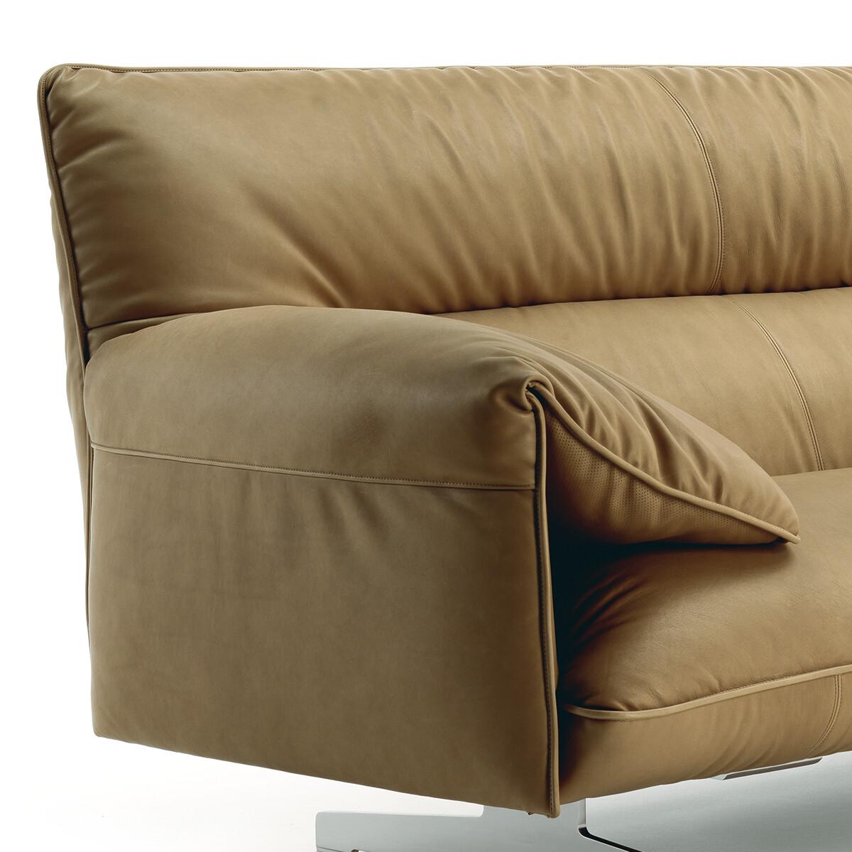 poltrona frau antohn sofa 3 sitzer casa de. Black Bedroom Furniture Sets. Home Design Ideas