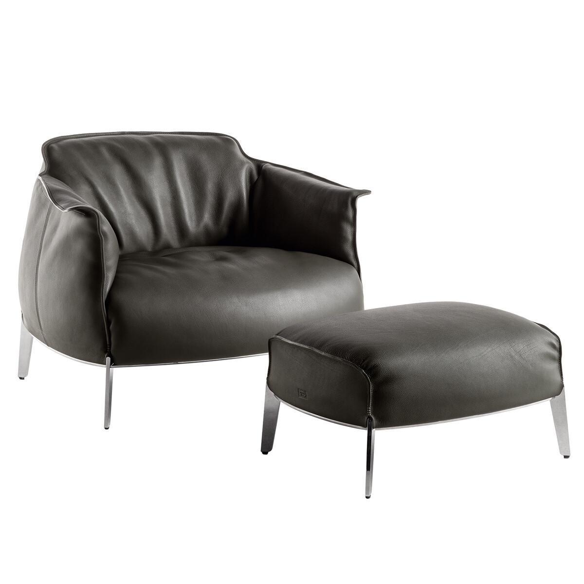 poltrona frau archibald gran comfort sessel casa de. Black Bedroom Furniture Sets. Home Design Ideas