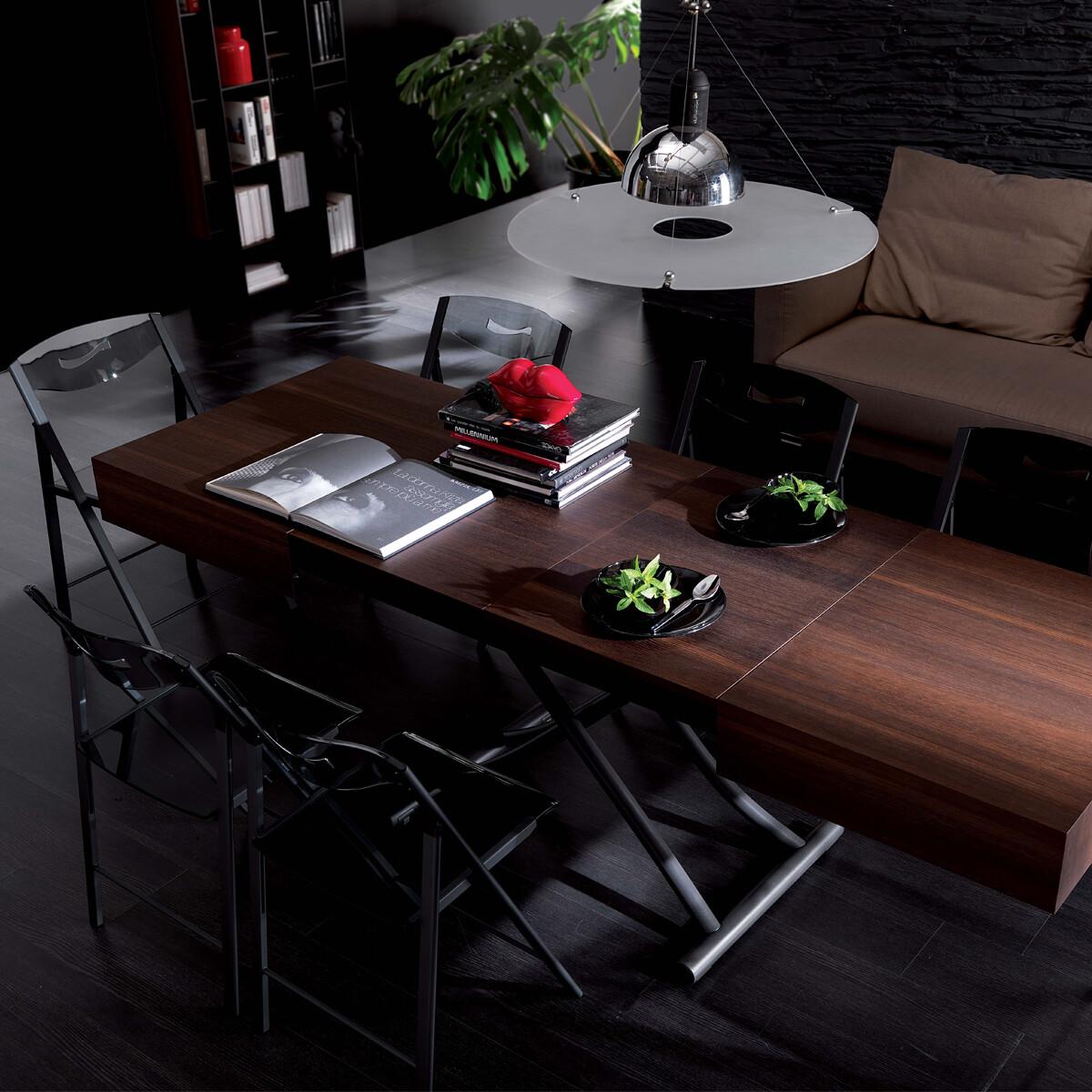 ozzio box legno multifunktionstisch couch und esstisch t111 eichenholz casa de. Black Bedroom Furniture Sets. Home Design Ideas