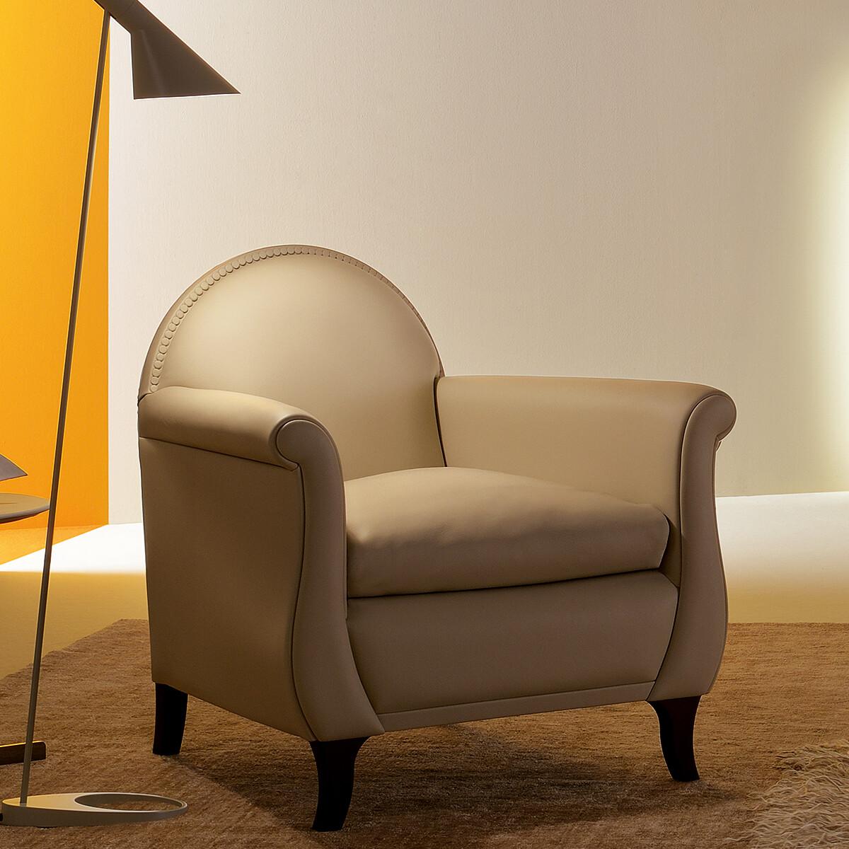 poltrona frau lyra designer sessel casa de. Black Bedroom Furniture Sets. Home Design Ideas