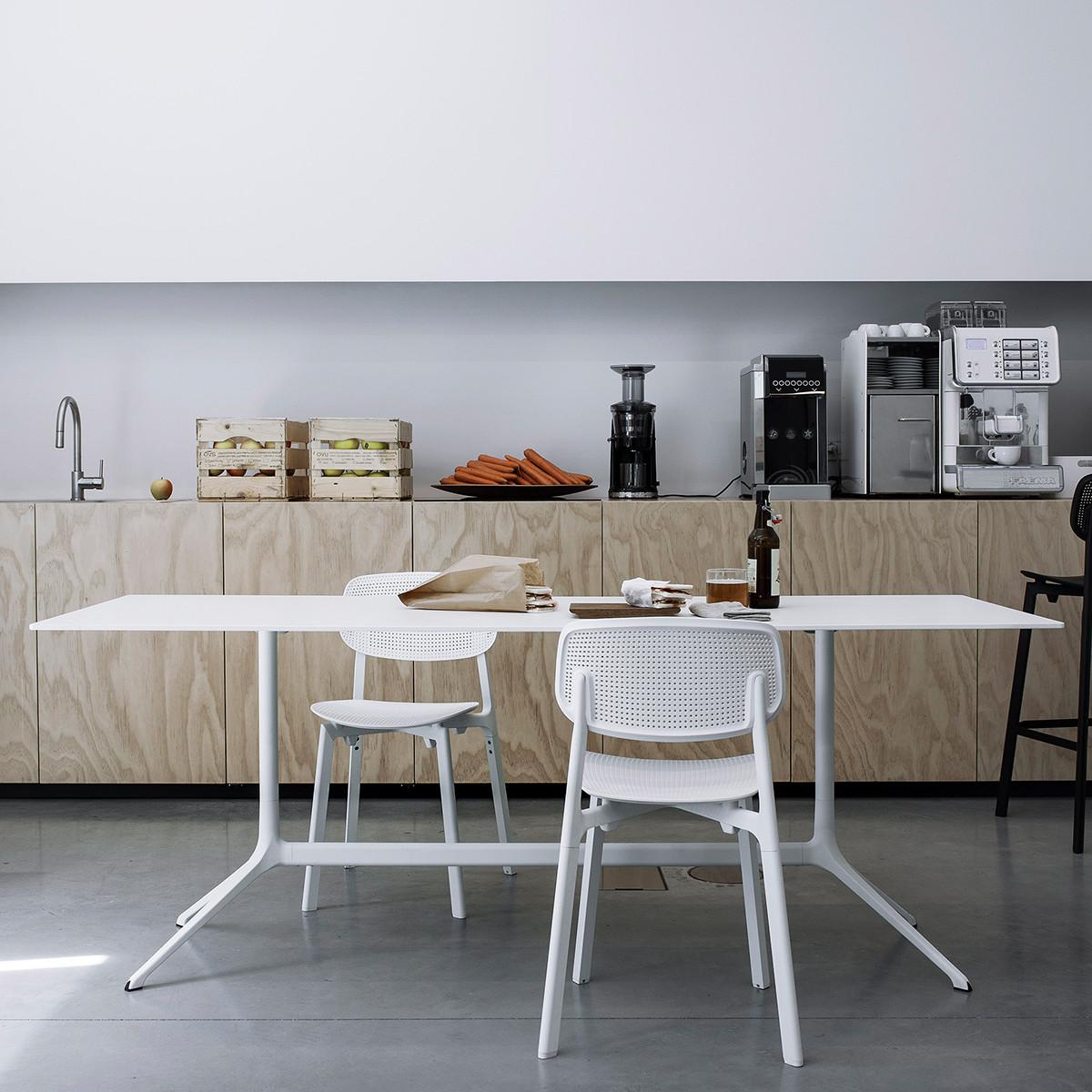 kristalia elephant double tisch 150x79 cm h he 76 cm. Black Bedroom Furniture Sets. Home Design Ideas