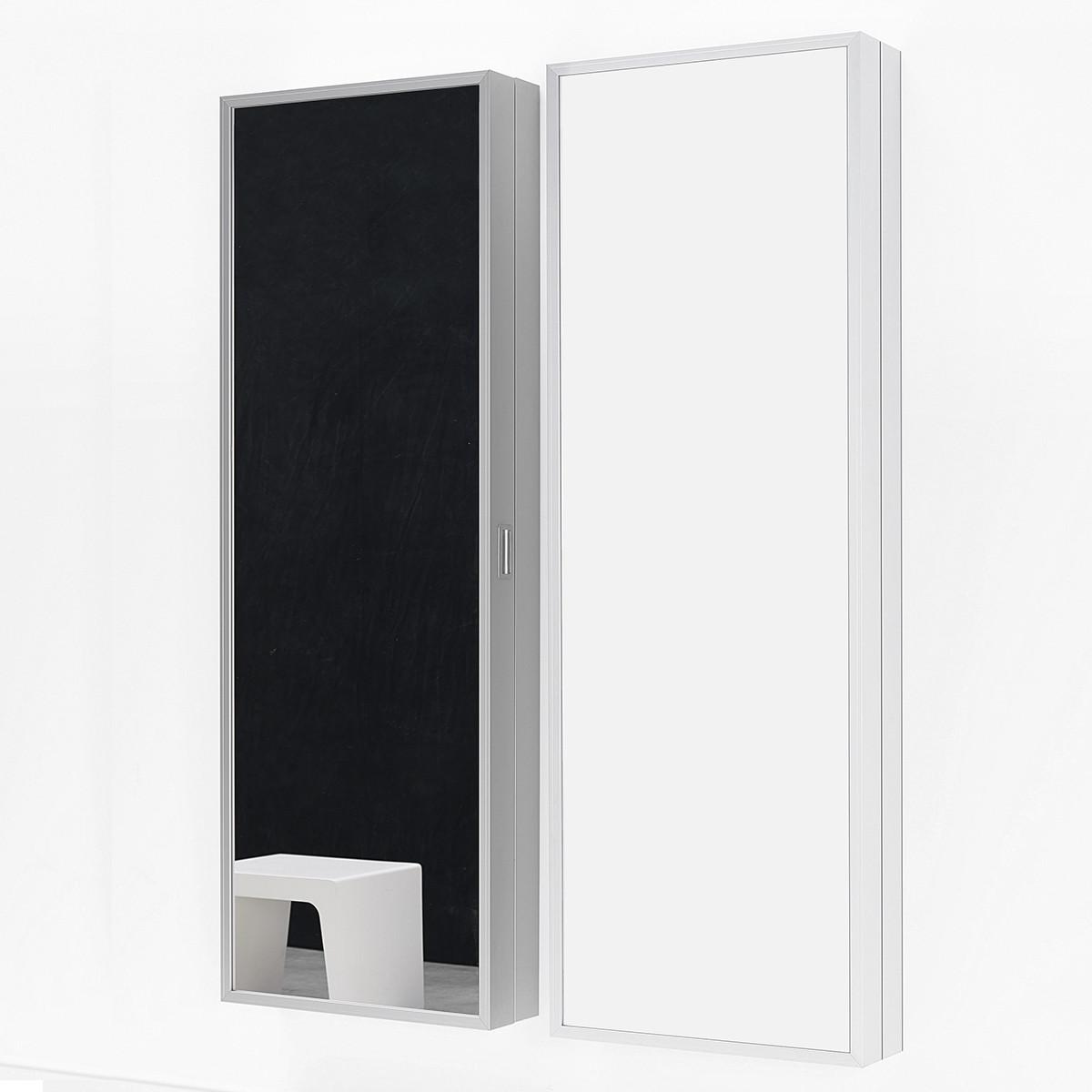 Kristalia foot box schuhschrank spiegel casa de for Spiegel schuhschrank