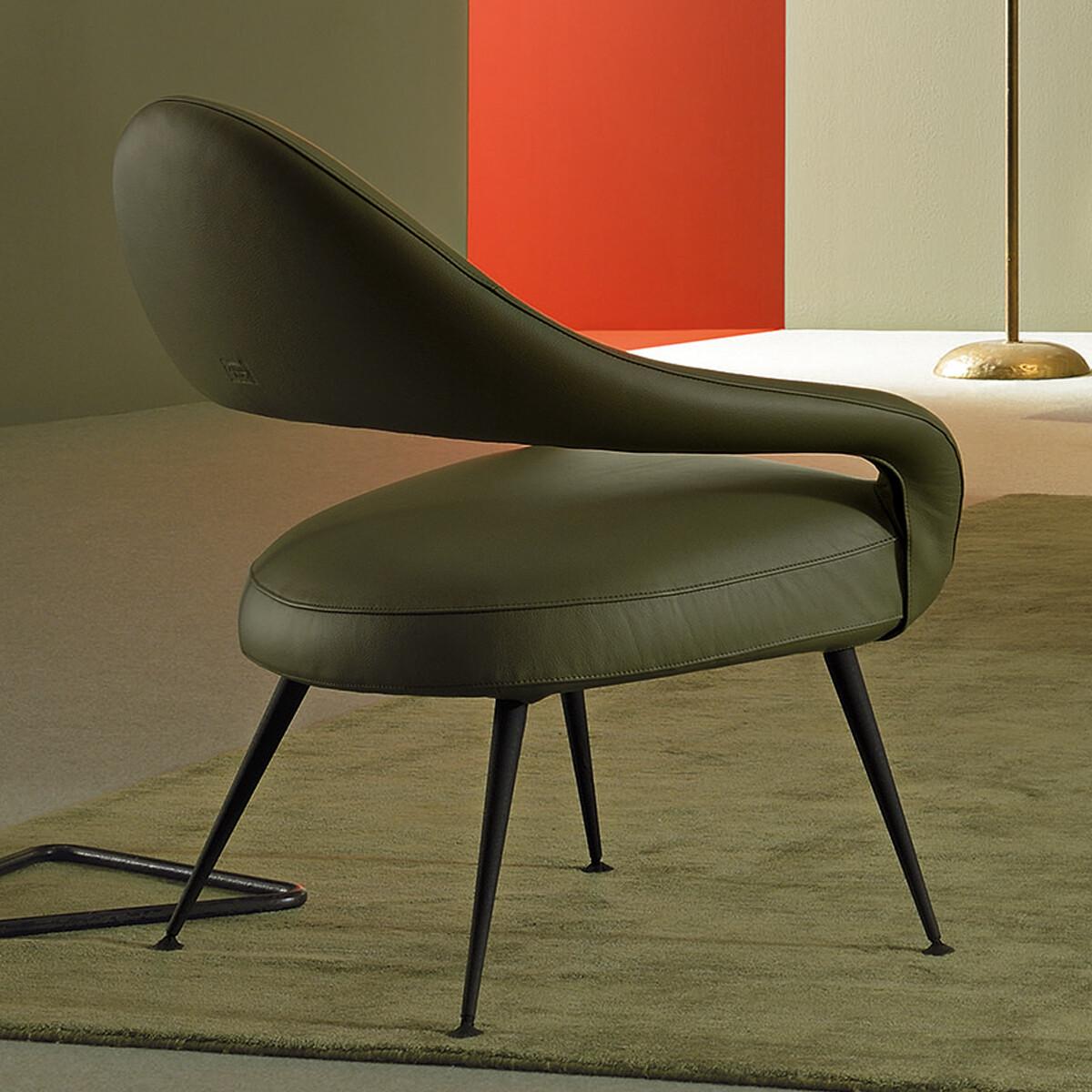 poltrona frau letizia sessel casa de. Black Bedroom Furniture Sets. Home Design Ideas