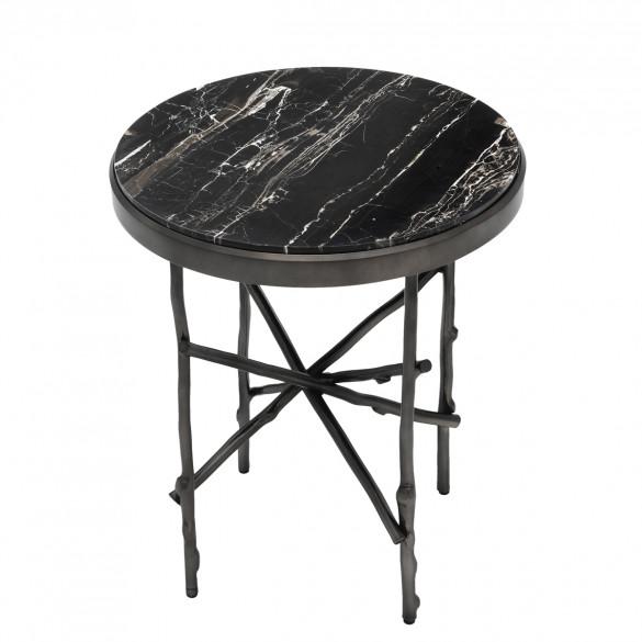 Eichholtz tomasso marmor beistelltisch 50 cm casa de for Marmor beistelltisch