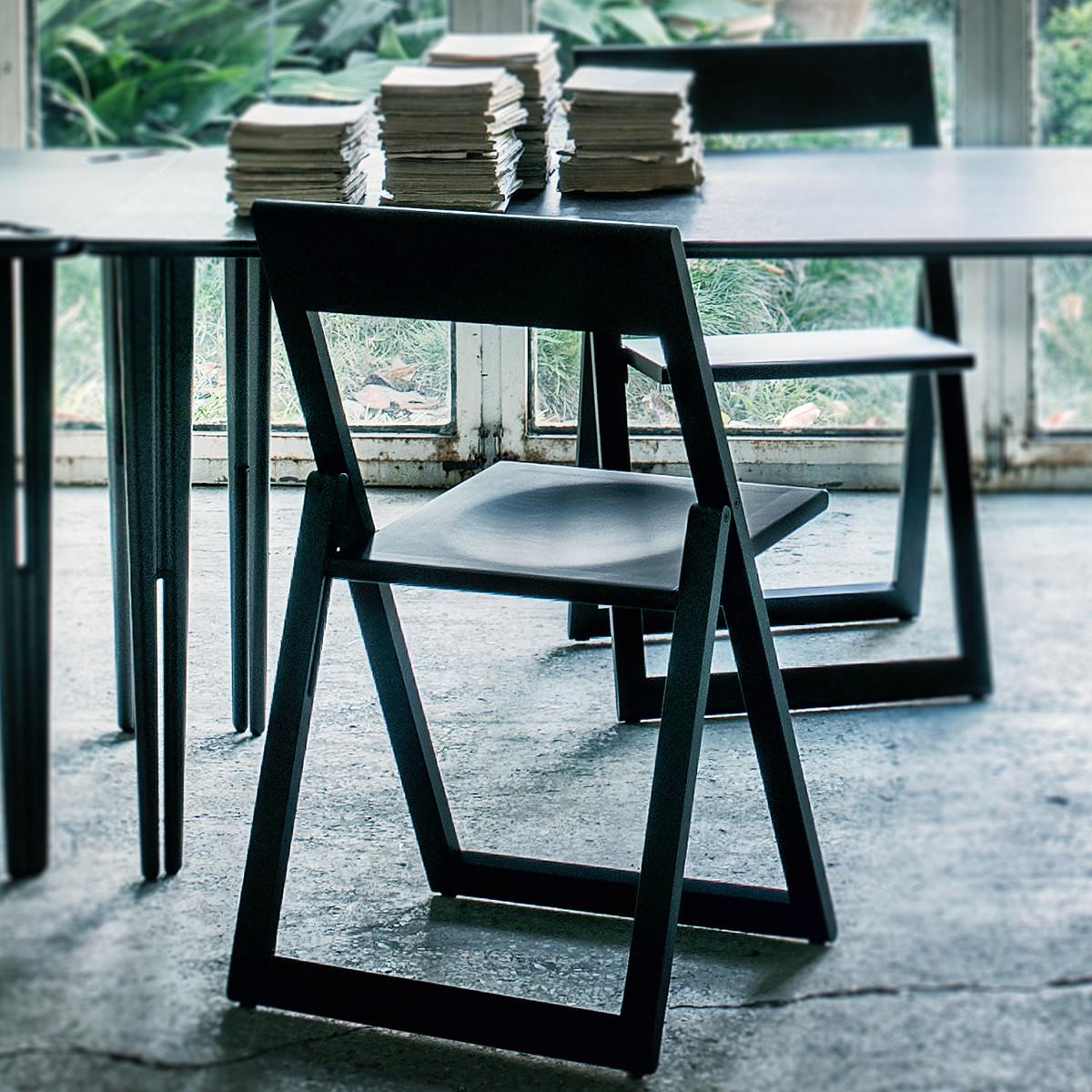 Magis Aviva Designer Klappstuhl Aus Massivholz Casa De