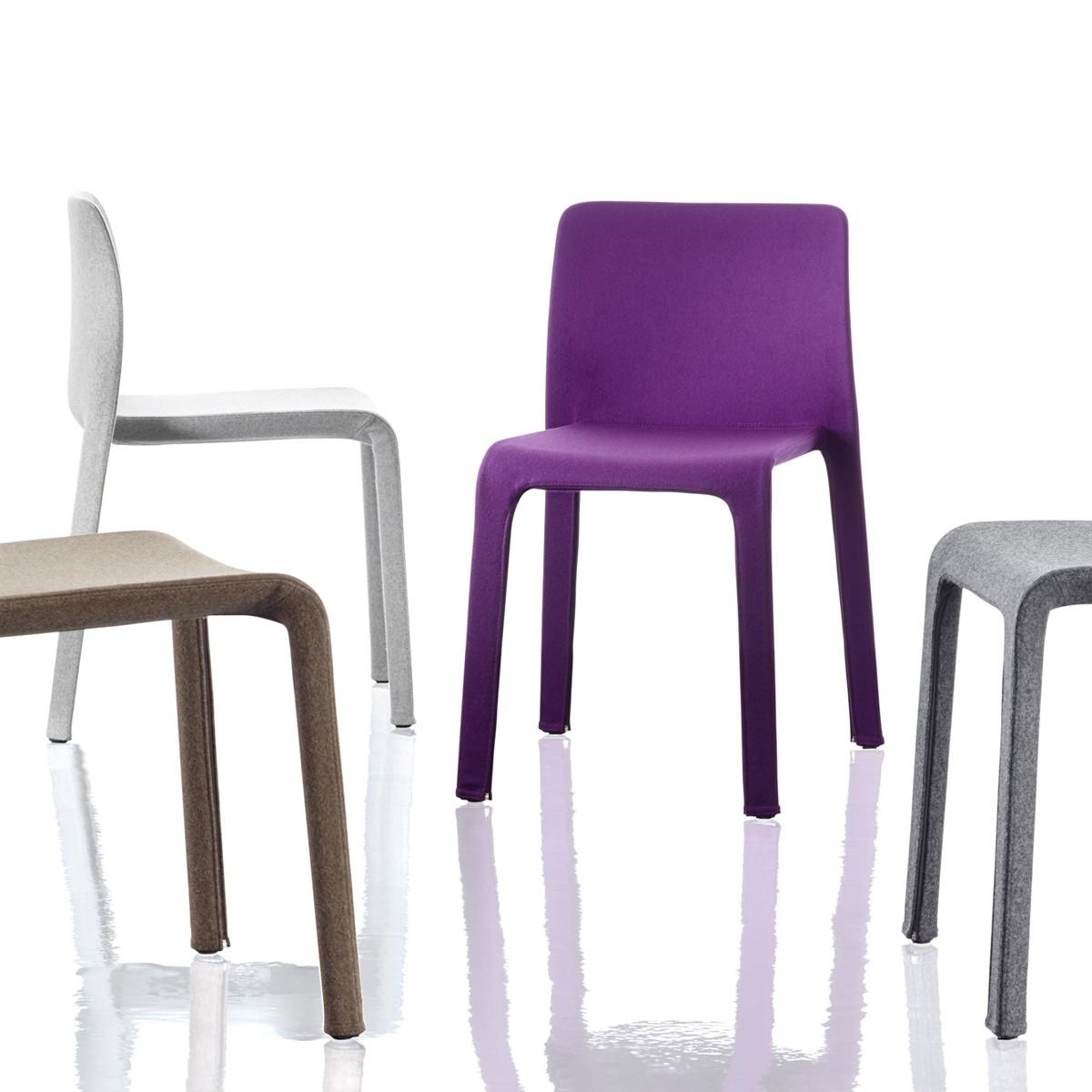 magis first dressed stuhl mit stoffbezug casa de. Black Bedroom Furniture Sets. Home Design Ideas