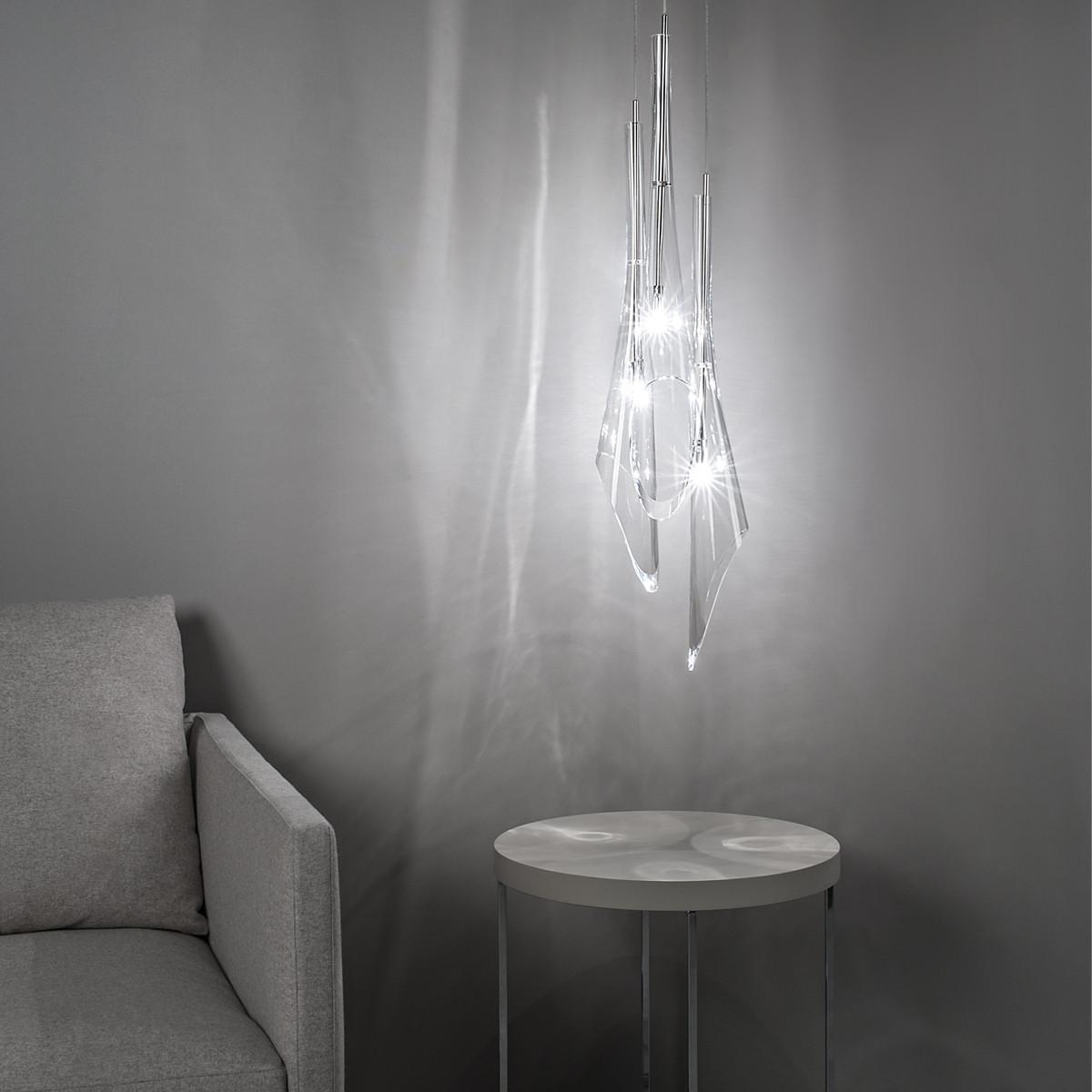 terzani calle pendelleuchte 3 flammig casa de. Black Bedroom Furniture Sets. Home Design Ideas