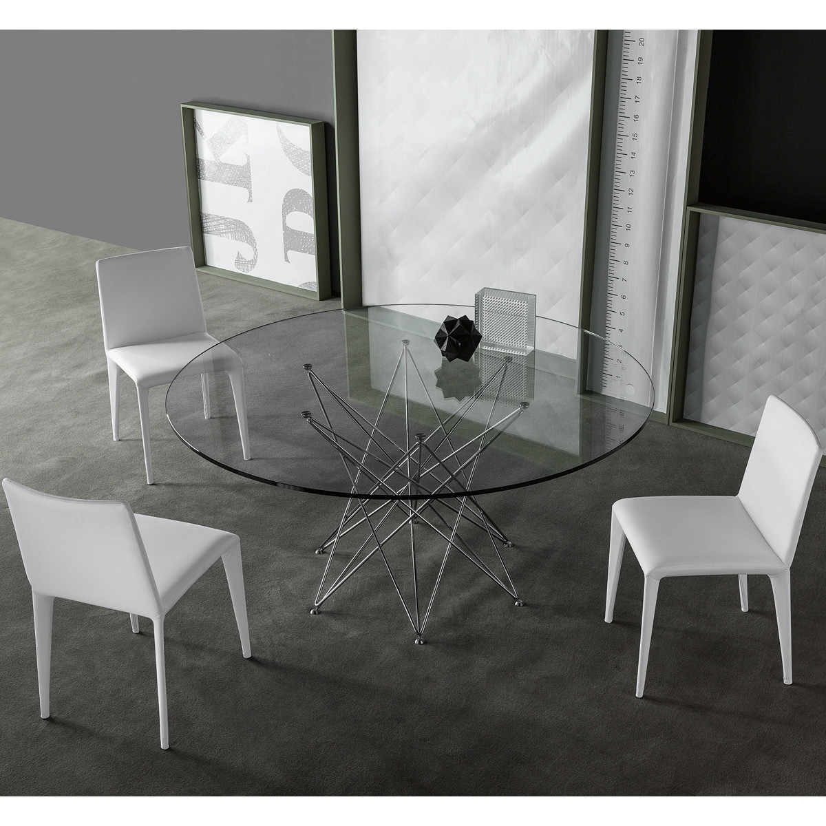 bonaldo octa designer esstisch 140 cm casa de. Black Bedroom Furniture Sets. Home Design Ideas