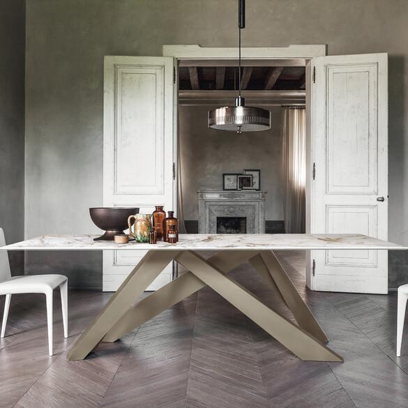 Bonaldo BIG TABLE Ess- und Arbeitstisch 200 cm | CASA.DE