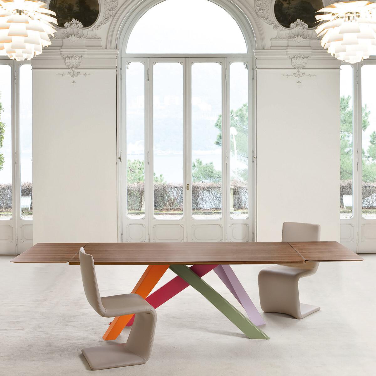Bonaldo BIG TABLE Ess- und Arbeitstisch 180-260 cm | CASA.DE