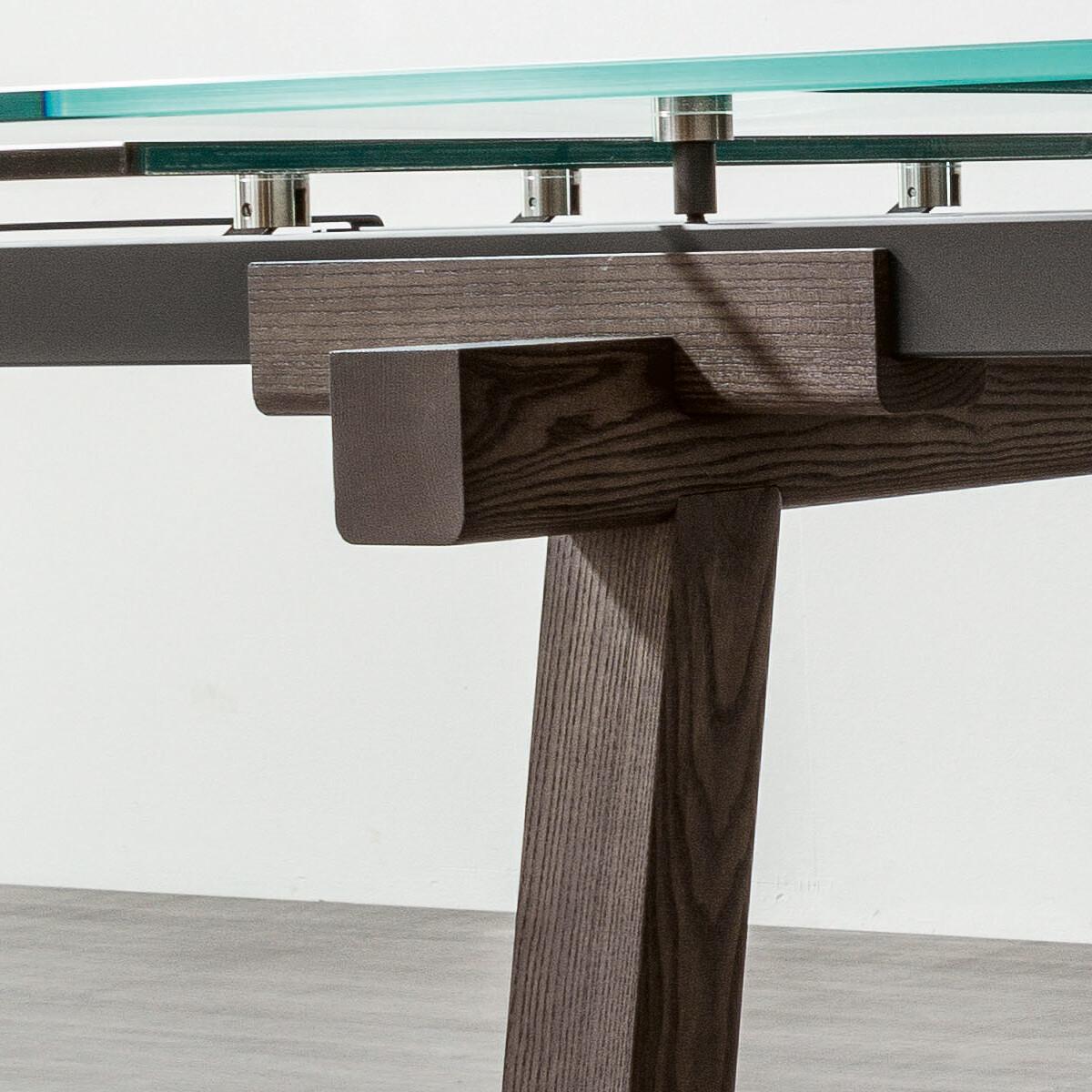 bonaldo tracks esstisch 190 300 cm casa de. Black Bedroom Furniture Sets. Home Design Ideas