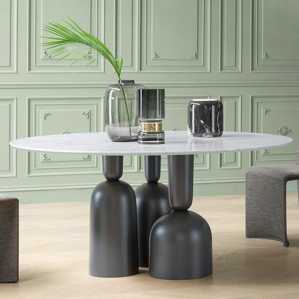 Esstisch design esstische ausziehbar ovaler esstisch for Design esstisch vollholz