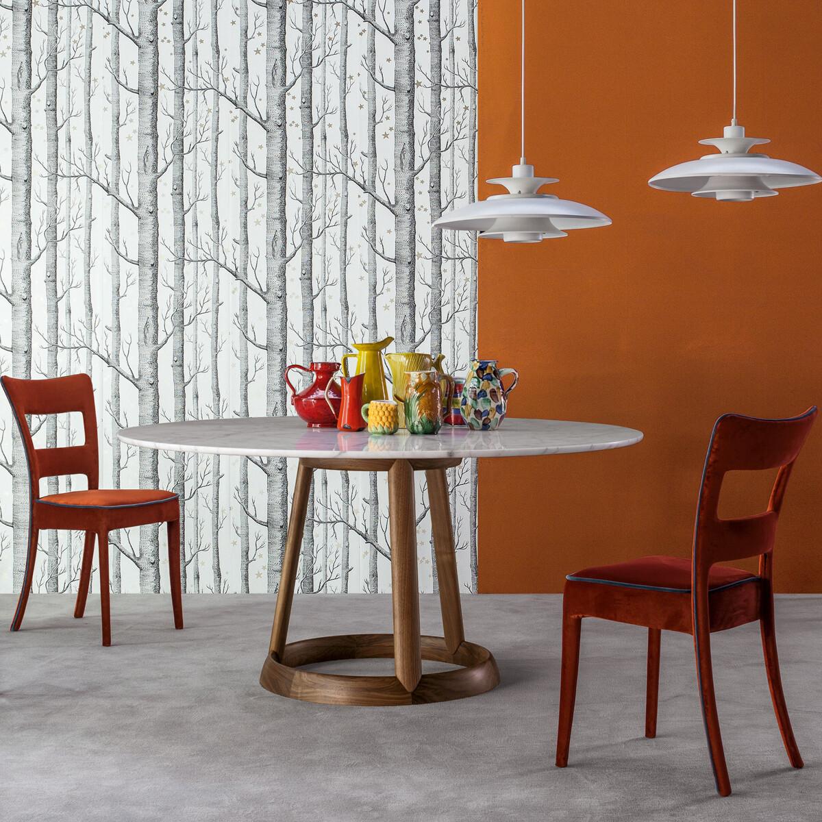 bonaldo greeny marmor esstisch 140 cm casa de. Black Bedroom Furniture Sets. Home Design Ideas