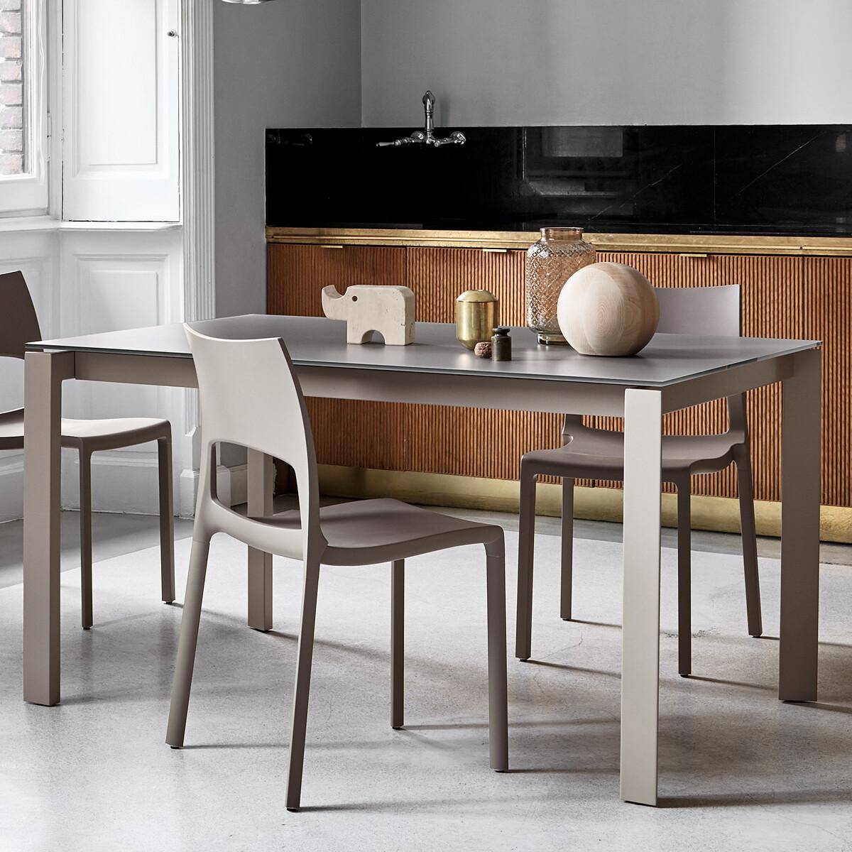 bonaldo menu ausziehbarer esstisch 140 175 210 cm casa de. Black Bedroom Furniture Sets. Home Design Ideas