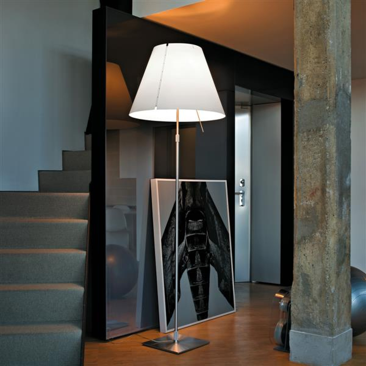 luceplan grande costanza d13g stehleuchte casa de. Black Bedroom Furniture Sets. Home Design Ideas
