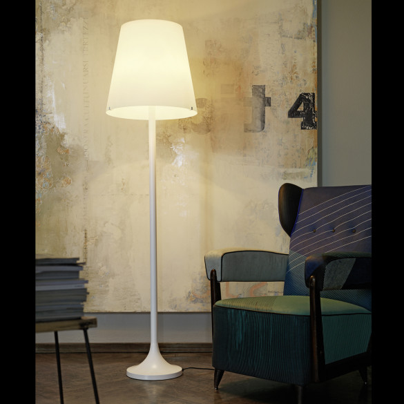 fontana arte lumen stehleuchte mit dimmer casa de. Black Bedroom Furniture Sets. Home Design Ideas