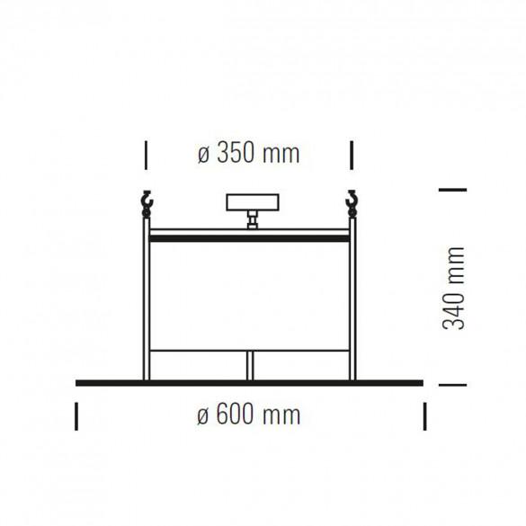 tecnolumen bauhaus dmb 30 deckenleuchte casa de. Black Bedroom Furniture Sets. Home Design Ideas