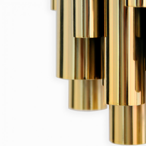 Delightfull BRUBECK Art Deco Wandleuchte - Halogen-Version