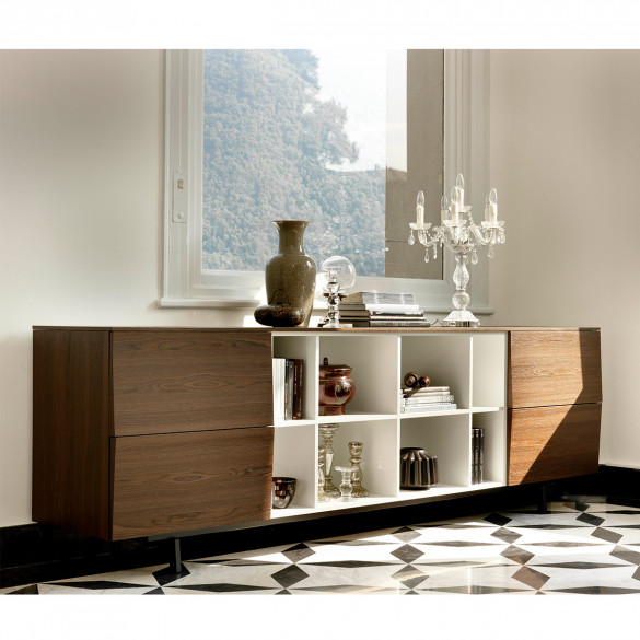 bontempi amsterdam sideboard 260x53x83cm casa de. Black Bedroom Furniture Sets. Home Design Ideas