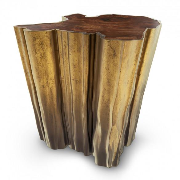 BRABBU Sequoia Designer Beistelltisch | CASA.DE