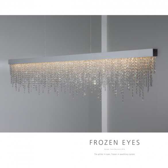 ILFARI Frozen Eyes H CXL LED-Pendelleuchte 100 cm