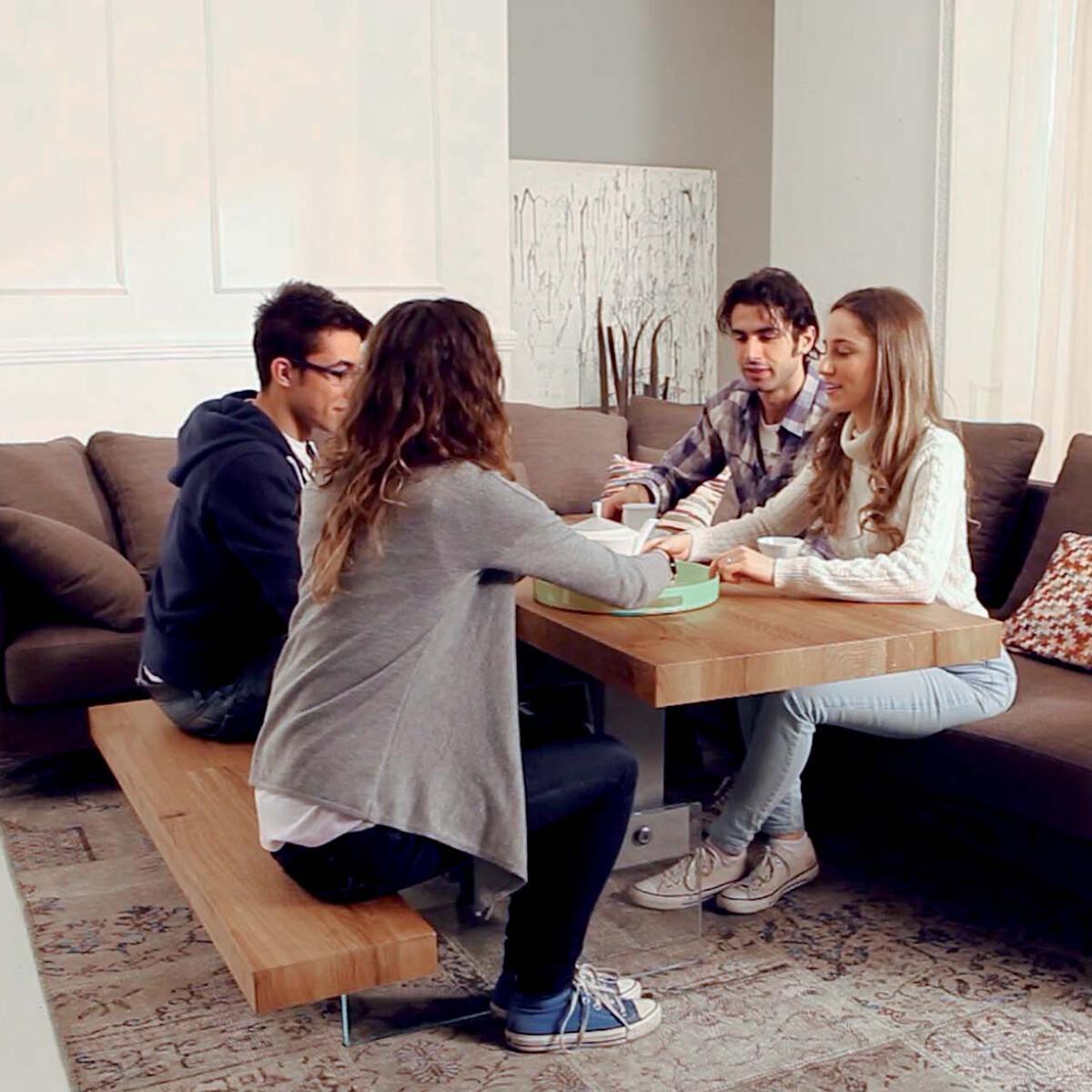 ozzio markus h henverstellbarer couchtisch t063 casa de. Black Bedroom Furniture Sets. Home Design Ideas