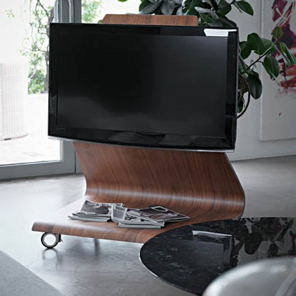 horm it cobra tv st nder auf rollen mit led licht casa de. Black Bedroom Furniture Sets. Home Design Ideas