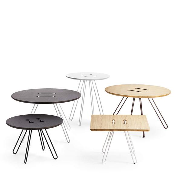 Casamania twine table beistell und couchtisch 50x50 cm for Couchtisch 50x50