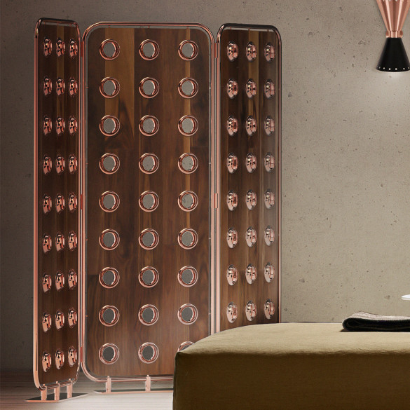 Essential Home MONOCLES Folding Screen Raumteiler