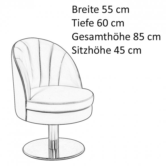 Essential Home GABLE Dining Chair Stuhl