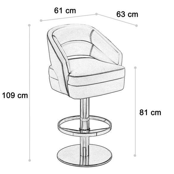 Essential Home RUSSEL BAR CHAIR Barstuhl