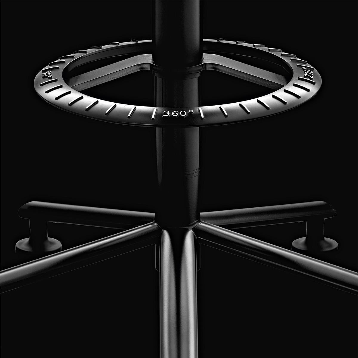 magis 360 hocker auf rollen drehbar casa de. Black Bedroom Furniture Sets. Home Design Ideas