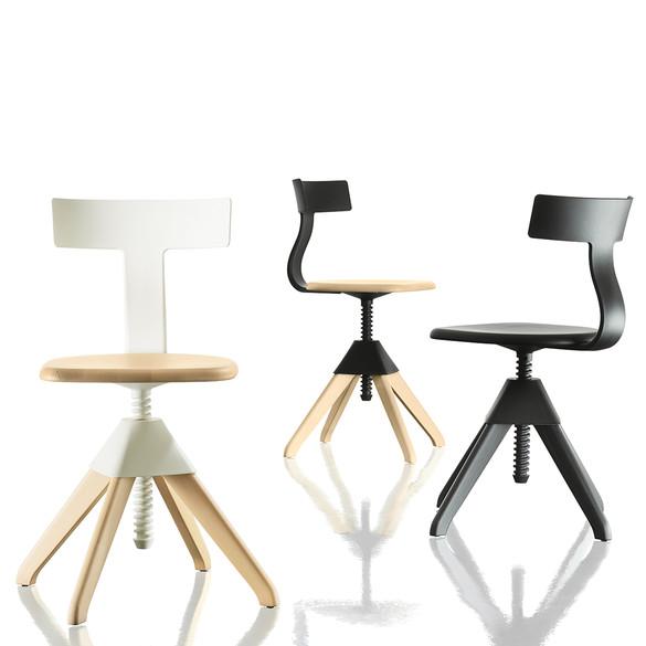 magis tuffy stuhl drehbar h henverstellbar casa de. Black Bedroom Furniture Sets. Home Design Ideas