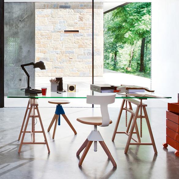 magis teatro designer schreibtisch 200 cm casa de. Black Bedroom Furniture Sets. Home Design Ideas