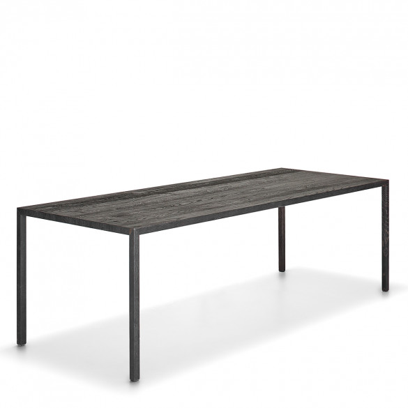 mdf italia tense material tisch in holz karbonisiert casa de. Black Bedroom Furniture Sets. Home Design Ideas