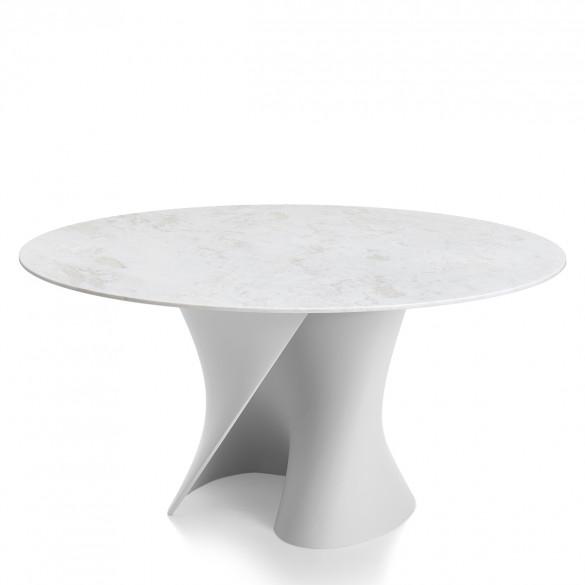 Mdf italia s table tisch mit carrara marmorplatte casa de for Carrara marmor tisch