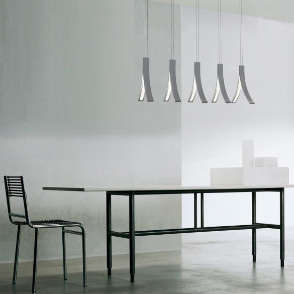 ilfari stream h5 led pendelleuchte 5 flammig casa de. Black Bedroom Furniture Sets. Home Design Ideas